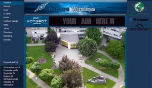 Dugave Wireless hotspot portal