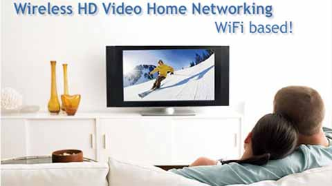 HDTV over WiFi